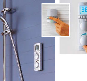 Digital shower Grohtherm Wireless