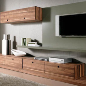 Contemporary Wall Unit from Gruber Schlager – the Amineo Wall Unit