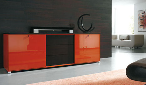 gruber schlager cubico tv wall unit TV Wall Unit from Gruber Schlager  the Cubiko Wall Unit