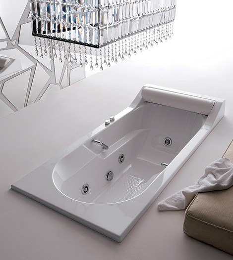 Rectangular Bathtub From Gruppo Treesse U2013 Classic Alba