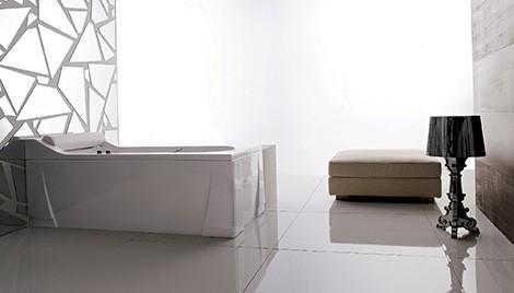 gruppo treesse bathtub alba 2 Rectangular Bathtub from Gruppo Treesse – classic Alba
