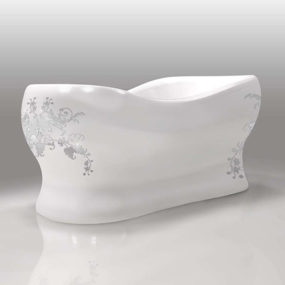Custom Bathtub Designs from Gruppo Treesse – Epoca Egg series