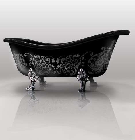 gruppo treesse custom bathtub epoca arabesque