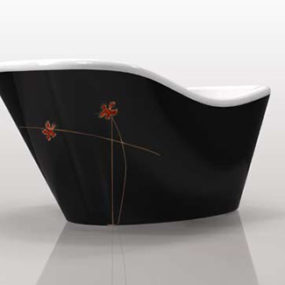 Nina series from Gruppo Treesse – modern customizable tubs