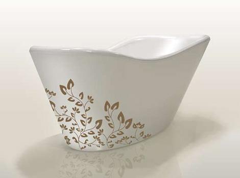 gruppo treesse custom bathtub nina free Nina series from Gruppo Treesse   modern customizable tubs