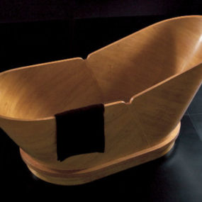 European Tubs from Gruppo Treesse – MP3 Player, Leather, Glass, Wood and more