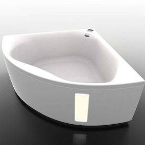 Hydromassage Tub for Corner Installation from Gruppo Treesse – new Slide
