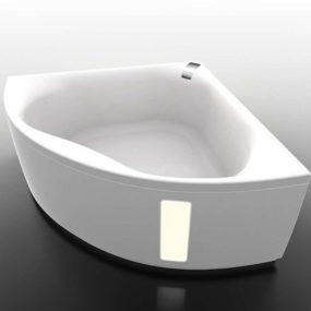 Hydromassage Tub for Corner Installation from Gruppo Treesse – new Slide