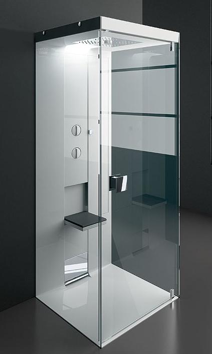 gruppo treesse shower cabin idea 2 Minimalist Showers by Treesse