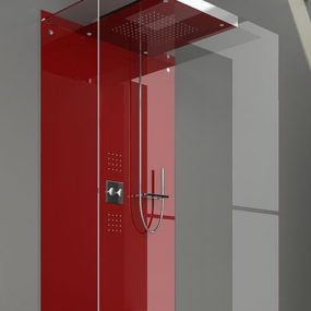 Minimalist Showers by Treesse