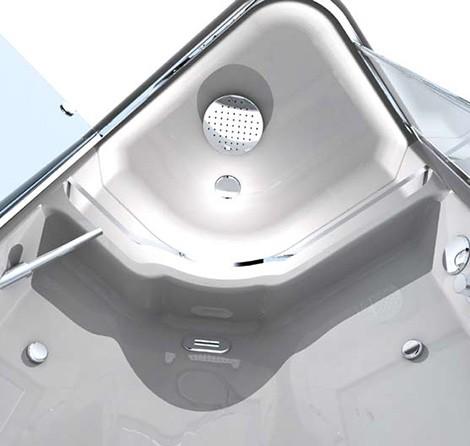 gruppo treesse shower module dada inside