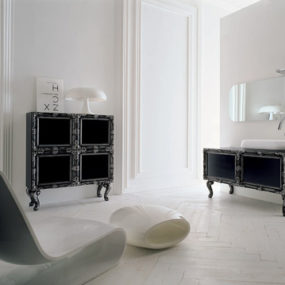 Delichon Modern Vanity from Gruppo Atma:  Reinterpreting the Traditional
