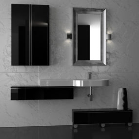 Italian Bathroom Vanity from Gruppotarrini: sleek and sophisticated