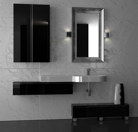 Italian Bathroom Vanity From Gruppotarrini: Sleek And Sophisticated