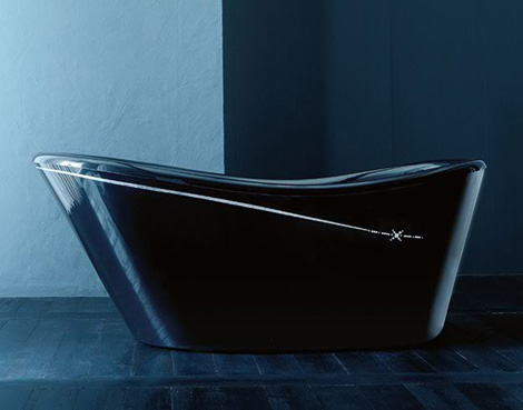 gruppotreesse decorative tubs for formal bathrooms 2 Decorative Tubs for Formal Bathrooms   new Nina tub by Gruppo Treesse
