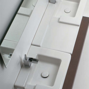 Contemporary Bathroom Sinks from GSG Ceramic – the cool Race sink designs