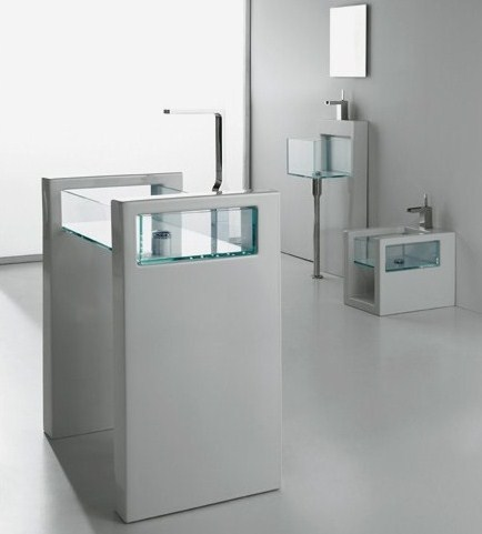 gsg glass bathroom suites 7 glass bathroom suites new glass suite by ceramica gsg