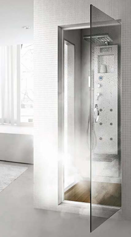hafro shower rigenera 3 Steam Shower Cabin transforms into a Turkish Bath