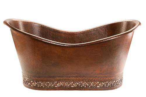 hammered bathtub premier copper products 2 Hammered Copper Bathtub by Premier Copper Products