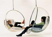 Hanging Bubble Chair by Aarnio Eero – 1968 design of the future