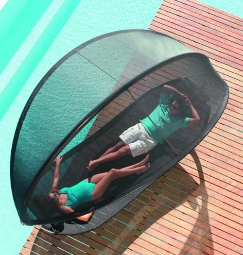 hanging sun lounger for two royal botania surf 2