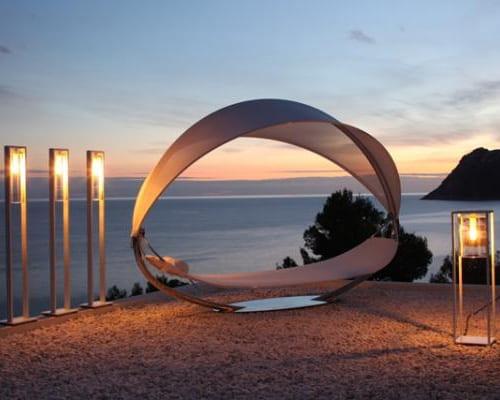 hanging sun lounger for two royal botania surf 6