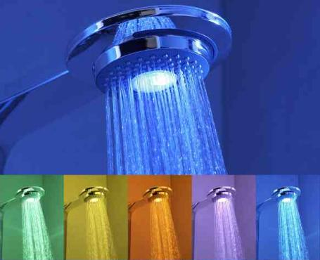 hansa color shower Hansa Color Showerhead   a shocking discovery