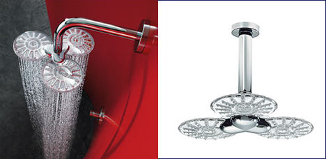 hansaclear shower three spray Hansa new shower heads and faucets are amazing
