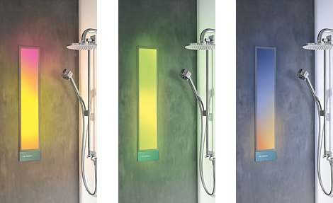 hansaforsenses bathroom therapy system 2 Hansa HansaForSenses Bathroom Therapy System   Light, Sound and Aroma