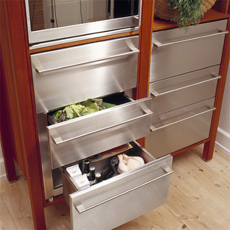 hansen kitchen build in cabinet storage