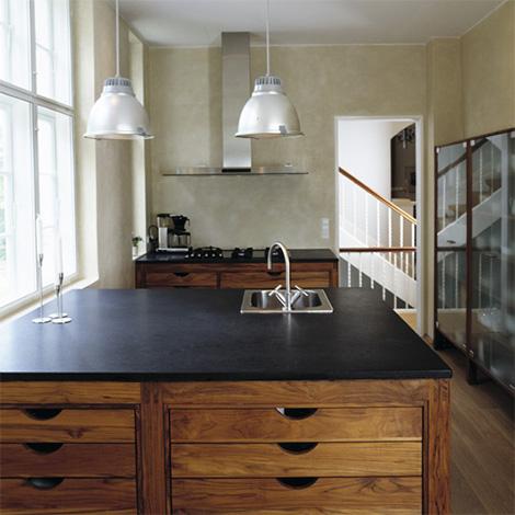 Hansen kitchen - islands