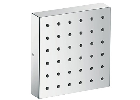 Axor Starck Shower module - a small, perfect square measuring 12 x 12 centimeters