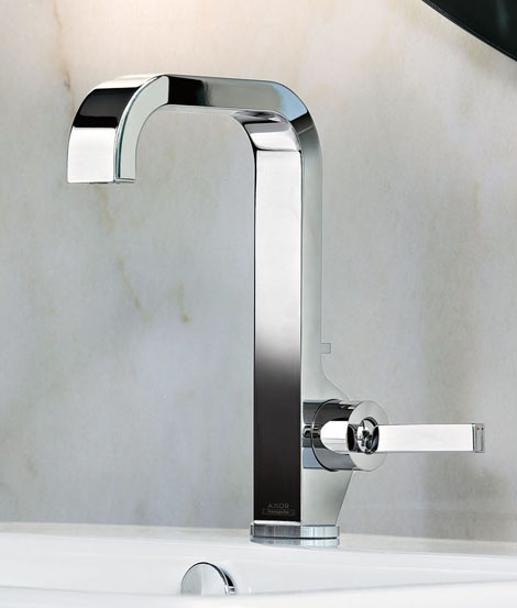 hansgrohe faucet axor citterio 1 New Bathroom Faucets by Hansgrohe   new faucet additions to Axor Citterio collection