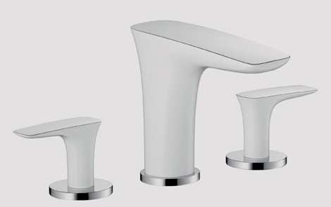 Hansgrohe PuraVida Faucets - new bathroom trend for 2009: white ...