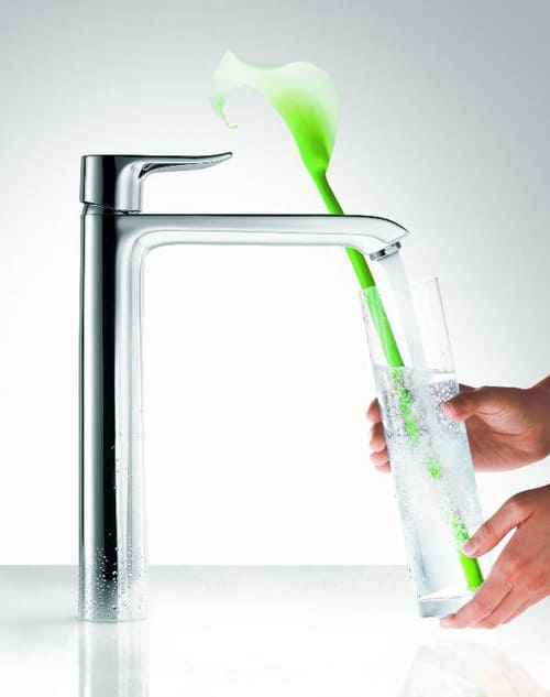 Hansgrohe metris faucet line new 5 eco friendly faucet for Eco friendly faucets