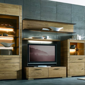 Wall Unit by Hartmann – Cubo modern wall units in solid wood design