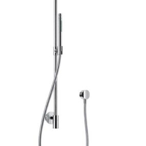 Hansgrohe Raindance Connect Showerpipe – converts into showerhead with a click