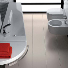 Heated Washbasin System Grandangolo from Hatria – new innovative washbasins