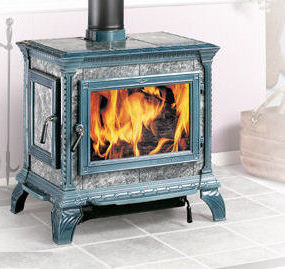 Woodburning Stove from Hearthstone Stoves – the Heritage woodstove