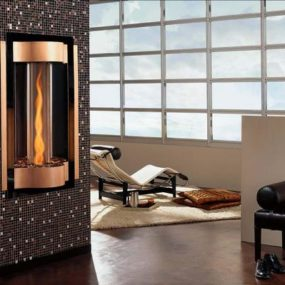 Cyclone Gas Fireplace by Heat & Glo