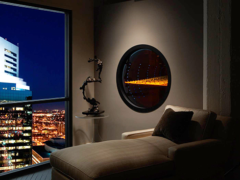 heatnglo fireplace solaris Futuristic Fireplace Solaris by Heat & Glo