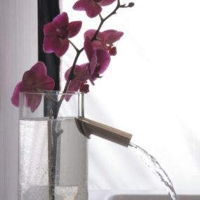 Glass Bathroom Faucet Flower – faucet & vase combination