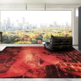 HZL Modern Rugs – latest trends in high-end luxury rug designs from Sweden