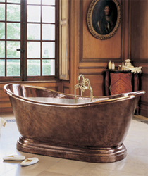 herbeau copper tub Herbeaus Medicis Copper Bathtub 0711   Bath Couture