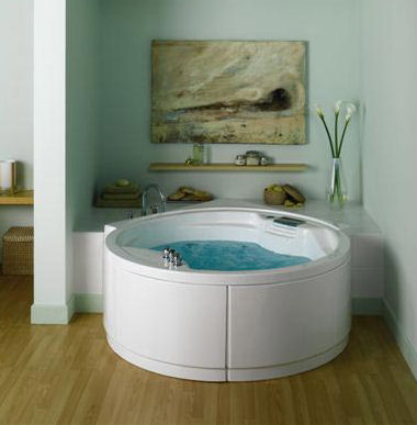 heritage bathrooms selena round whirlpool Round Whirlpool Selena by Heritage Bathrooms