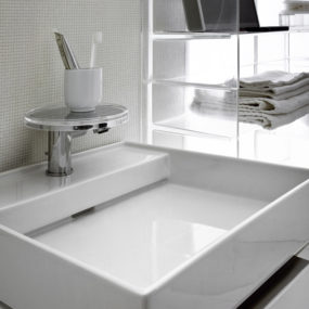Hidden Drain Sinks by Kartell for Laufen