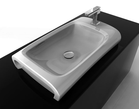 hidra bathroom hi line 2 Dynamic Modern Bathroom Design from Hidra   Hi Line collection