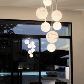 High End Pendant Lights by Atelier Alain Ellouz – Harmonie 10 Chandelier