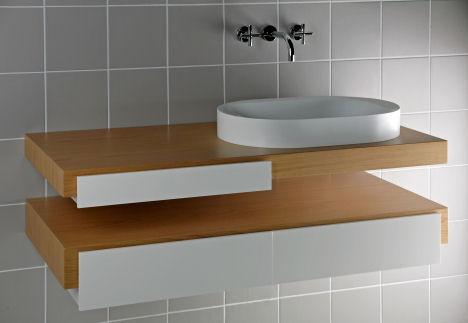 hoesch sensamare komplettbad vanity Hoesch Sensamare Komplettbad   the Complete Luxury Modern Bathroom