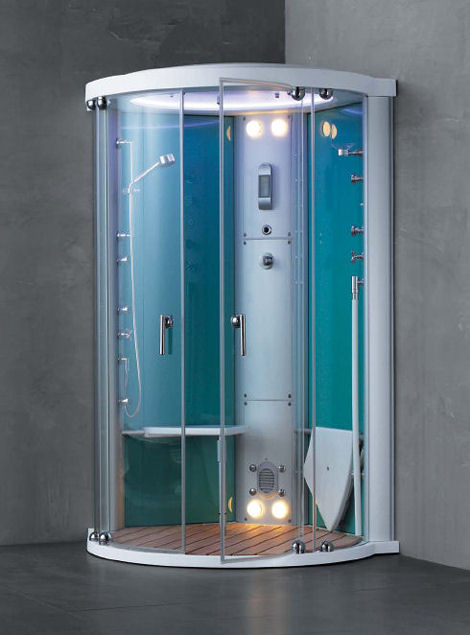 Steam shower trend must have showers for a luxury bathroom for Small baths 1100
